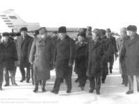 Визит А.Н.Косыгина в Усинск в 1975г.
