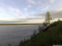 р.Уса, июнь, с берега Пармы