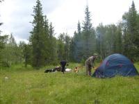 Лагерь у Ягинея