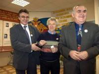 Три начальника штаба ВУКС, январь 2005 г.