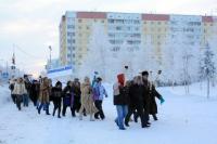 Факельное шествие 30.01.2010 г.