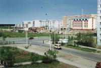 Перекресток Парковой и Нефтяников. Весна 1998г.