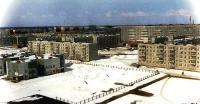 ул.Молодежная 27 и 25. Зима 1997г.