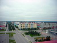 Перекресток ул.Нефтяников и Молодежной