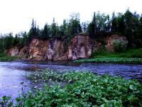 Первые скалы на Заостреной