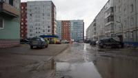 Во дворе ул.Комсомольская