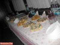 Фуршетный стол (в начале)