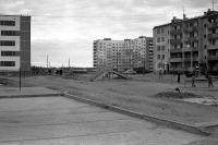 Двор 6 дома по ул.Строителей и 5 дома по ул.Молодежной