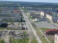 Главная улица города - Нефтяников