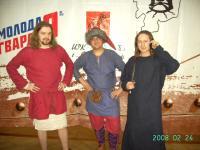 мода - 2008 на турнире...