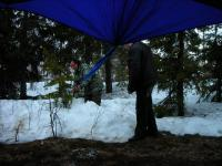 Ставим шатер