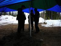 Дети снова под шатром