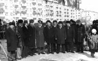 11 мая 1982 года. ул. Строителей, шк.№ 2. �стория Усинска.