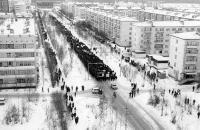 Демонстрация по ул.Строителей