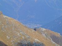 Вид на поселок Архыз с хребта Чагет-Чат
