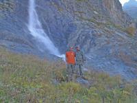 У главного Софийского водопада