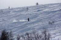 как же в горах - и без горных лыж?