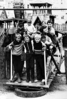 Детский деревянный городок