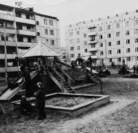 Детский мини городок во дворе ул.Строителей