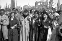 Первомайская демонстрация 1982-83г.