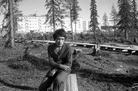 1976г. Деревянная дорожка через Нахаловку
