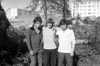 1976г. Нахаловка. Застройка улицы Парковая