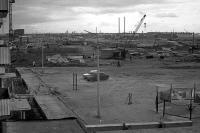 Строительство первых домов города
