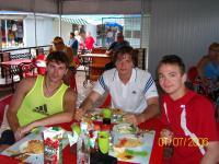 Ya , Andrey i Ruslan , leto 2006 , gdeto na more...