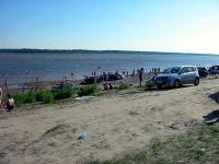 Пляж на Усе