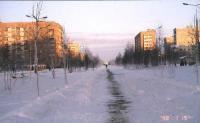 Алея по ул.Молодежная